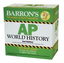 Barron's AP World History Flash Cards by Lorraine Lupinskie-Huvane (2011,...