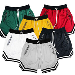 Men Basketball Running Shorts Quick Dry Casual Training Breathable Sweatpants