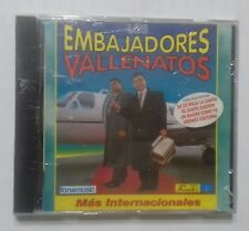 "CD´S LOS EMBAJADORES VALLENATO ""MAS INTERNACIONAL"""