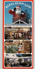 Santa Claus Lane Restaurant postcard Carpinteria Santa Barbara California NOS CA