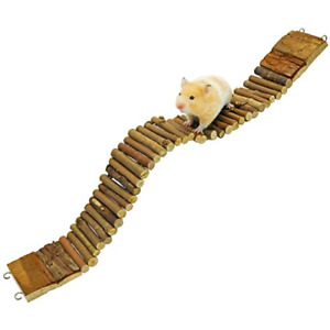"""Suspension Bridge for Hamsters Small Pet Ladder Promote Exercise 21.8"""" x 2.8"""""""