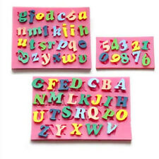 3Pcs/Set Alphabet Letter Number Fondant Icing Cutter Cake Decorating Mold Tools
