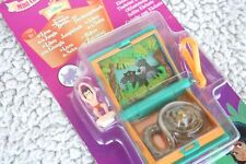 DISNEY TINY COLLECTION: THE JUNGLE BOOK: ELEPHANT STAMPER. BLUEBIRD POLLY POCKET