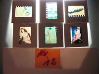 6 Akt Fotos 1950-1960 Jahre.Dias Künstlerische Frauen Akt Fotos-nude photos.N.12