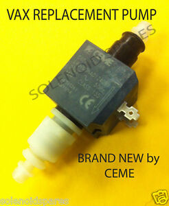 GENUINE VAX WATER PUMP CEME E407 REPLACEMENT VAX PART NUMBER 1512441900
