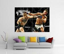 CONOR MCGREGOR V NATE DIAZ UFC GIANT WALL ART PHOTO PICTURE PRINT POSTER