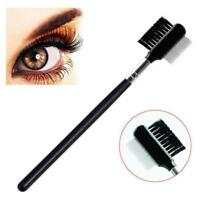 Professional Cosmetic Eyebrow Brow & Eyelash Lash Extension Comb & Brush WT