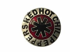 Red Hot Chili Peppers Rock Band Name Logo Metal Enamel BELT BUCKLE