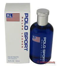 Polo Sport By Ralph Lauren 4.2oz/125ml Edt Spray For Men New In Box