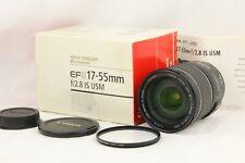 【 Casi Mint en Caja 】 Canon EF-S 17-55mm F/2.8 Is USM Para Aps Sensor De Japón