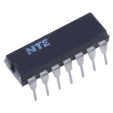 Nte Electronics Nte947D Integrated Circuit Dual Operational Amp 14 Lead Dip