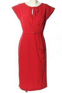 STOP STARING Etuikleid rot Elegant Damen Gr. DE 40 Kleid Dress Sheath Dress