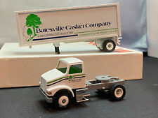 Winross Batesville Casket Company Tractor Truck With Trailer 1/64 Diecast
