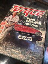 Peter Wherrett Automotive Books X 2 Torque Marque