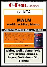 10mL Lackstift für IKEA MALM weiß