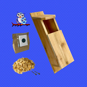 KingWood Original Cedar Owl House Box Kit