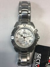 Sector chronograph SNL450 Silver Dial Swiss Made ETA 251.272 Movement