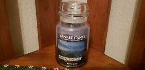Yankee Candle Mountain Lake 22oz Jar Candle NEW!