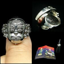 SZ 8 Phra Indra Lord Deity Ring AJ Subin Thai Amulet Wealth Wicca Luck Power