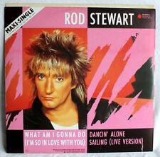 1980-89er Rock Vinyl-Schallplatten-Singles mit 33 U/min-Geschwindigkeit