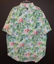 Polo Ralph Lauren Big and Tall Mens Hawaiian S/S Button-Front Shirt NWT 2XB
