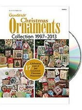 Just Cross Stitch 1997-2013 Christmas Ornaments Collection DVD New