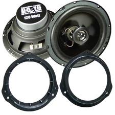 271190-17 Lautsprecher Adapter Ringe für Mercedes C-Klasse W204 Tür vorne hinten