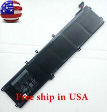 84Wh 4GVGH 1P6KD Battery For XPS 15 9550 15-9550-D1828T precision 5510 laptop