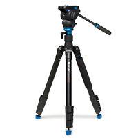 Benro A2883FS4 Areo 4 Video Tripod Monopod Head Kit * 4kg (8.8 lb) Max. Load