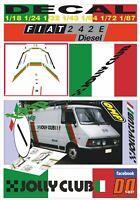 DECAL FIAT 242 E ASSISTENZA TOTIP JOLLY CLUB 1984 (01)