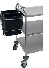 Abfallsammelbehälter für Servierwagen Abfallsammler für Küchenwagen Abräumwagen