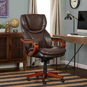 Serta 43506A Executive Office Chair Biscuit