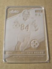 ANTONIO BROWN 2016 Panini Absolute Football Glass Case Hit Card #6 STEELERS