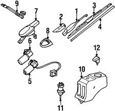 Genuine Mercedes-Benz Gear 124-820-23-07