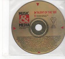 (FR399) Talent Of The 90's, 18 tracks - Music & Media Magazine CD