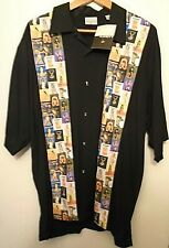 Playboy Magazine Covers Classic Button Shirt LARGE