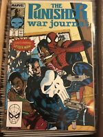 THE PUNISHER WAR JOURNAL #14 JIM LEE CLASSIC SPIDER-MAN TEAM UP MAIN COVER 1990