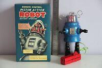 Piston Robot Robby Robot Tin Jouet Wind Up Nomura Alps Yoshiya Horikawa Takatoku