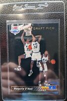 1992 93 UPPER DECK #1 SHAQUILLE O'NEAL ROOKIE CARD RC ORLANDO MAGIC HOF