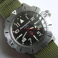 Russische Uhr. Automatik. VOSTOK. Komandirskie K-35. 100 m.