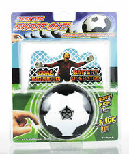 Desktop Hovering Football Soccer Shootout Goal Executive Toy Gadget Gift - NEW