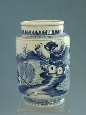 18th Qing Dynasty (Yong Zheng1723-1735) blue and white vase