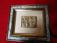 g s fioretti .925 silver plaque bomboniere la maison chantal s simeon religious