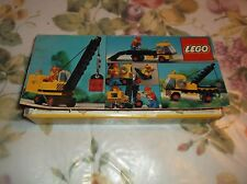 1979 Legoland # 558 Road Crane w/ Box  Instructions