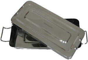 Sterilisationsbehälter Desinfektionswanne für Instrumente, Fräser, etc Edelstahl