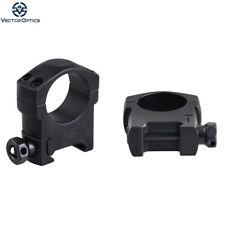 "Vector Optics Tactical 25.4mm 1"" Picatinny Weaver Riflescope Scope Mount Rings"