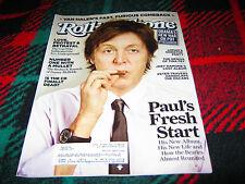 Rolling Stone Magazine Paul's Fresh Start - Issue #1151 - March 1, 2012