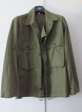 ww2 US Army HBT Herringbone Uniform 13 Star Button Shirt Jacket   Size  36R