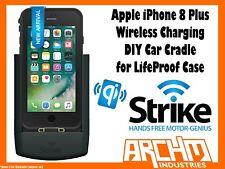 Strike Alpha Apple iPhone 8 Plus Wireless Charging Car Cradle Lifeproof Case DIY