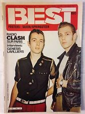 BEST N°160 1981 RADIO CLASH SUR PARIS